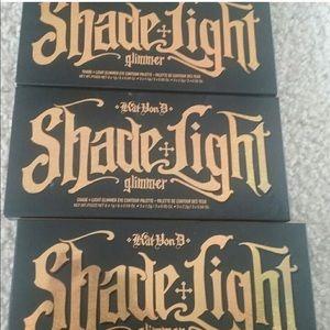 Kat von D shade and light glimmer